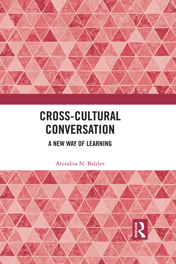 Cross-Cultural Conversation: A New Way of Learning, 1st Edition (Hardback) book cover