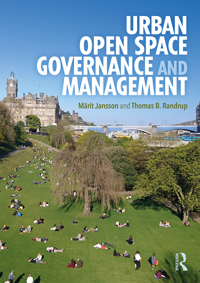 Urban Open Space Governance and Management book cover