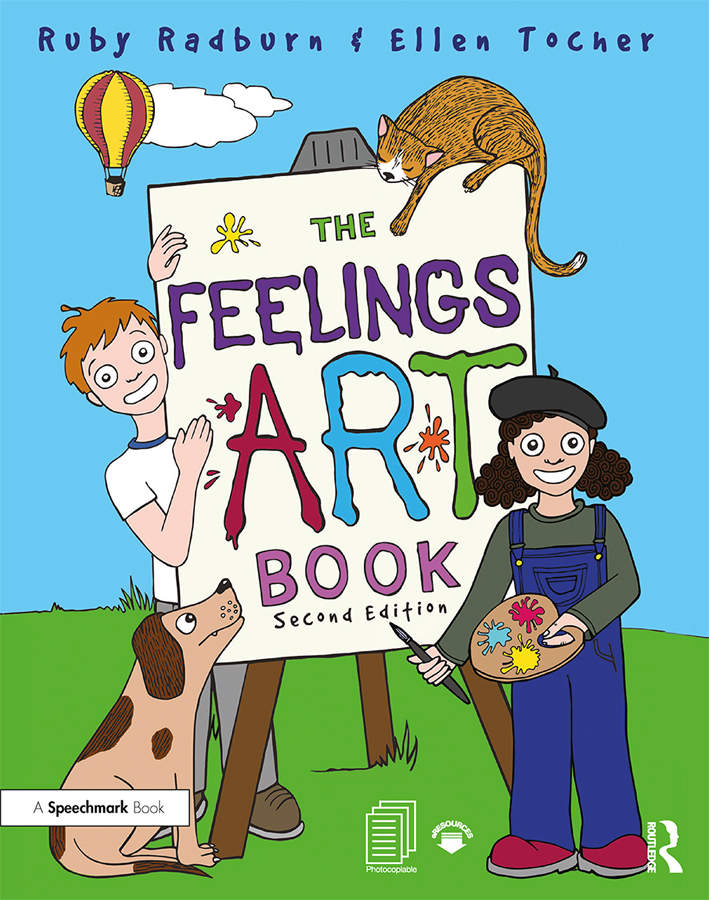 The Feelings Artbook: Promoting Emotional Literacy Through Drawing book cover