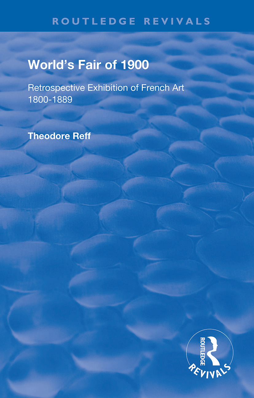 World's Fair of 1900: Retrospective Exhibition of French Art 1800-1889 book cover