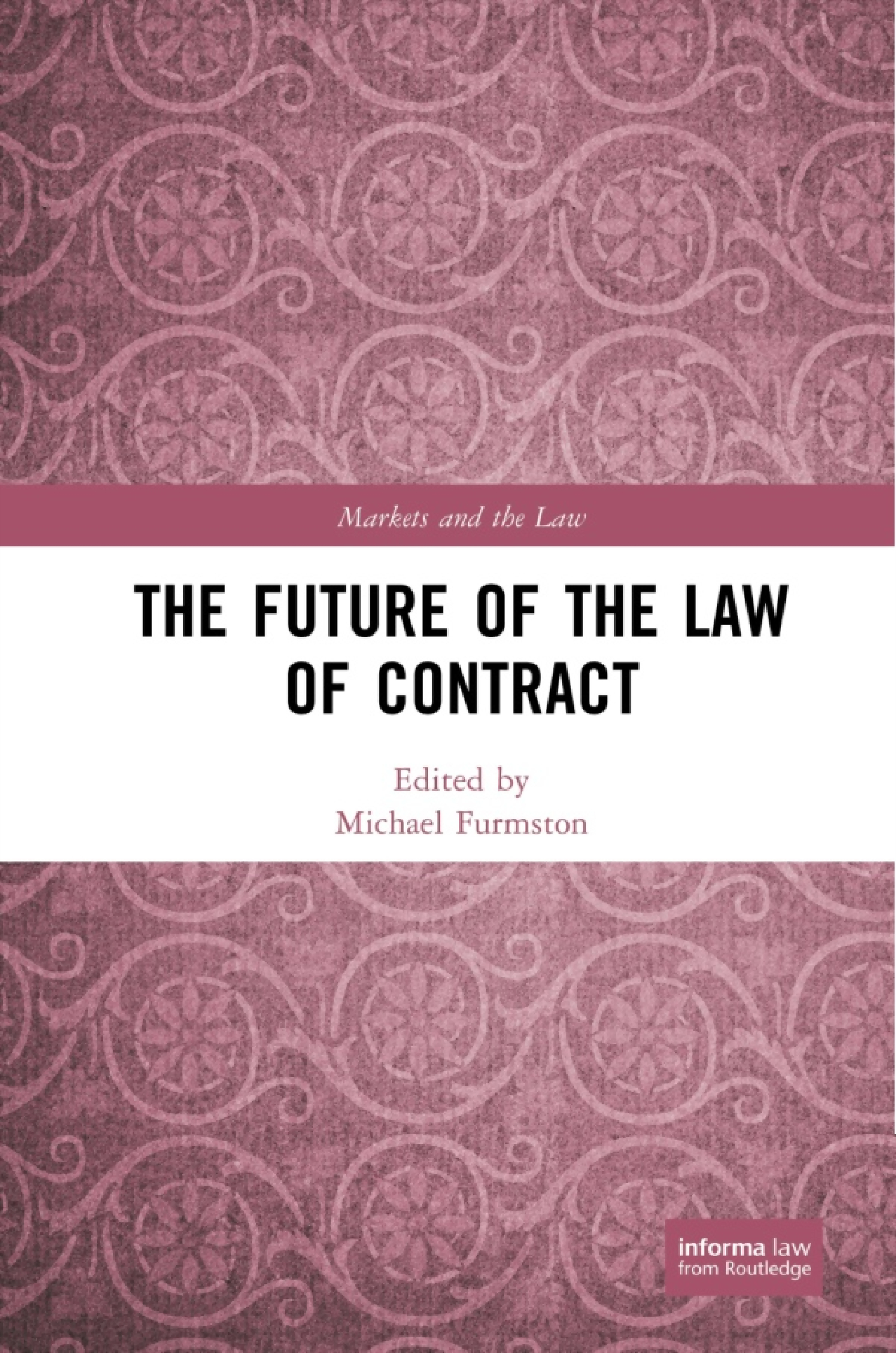 The Future of the Law of Contract book cover