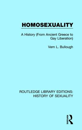 Homosexuality: A History (From Ancient Greece to Gay Liberation) book cover