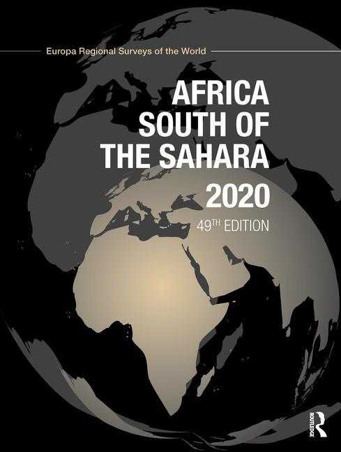 Africa South of the Sahara 2020 book cover