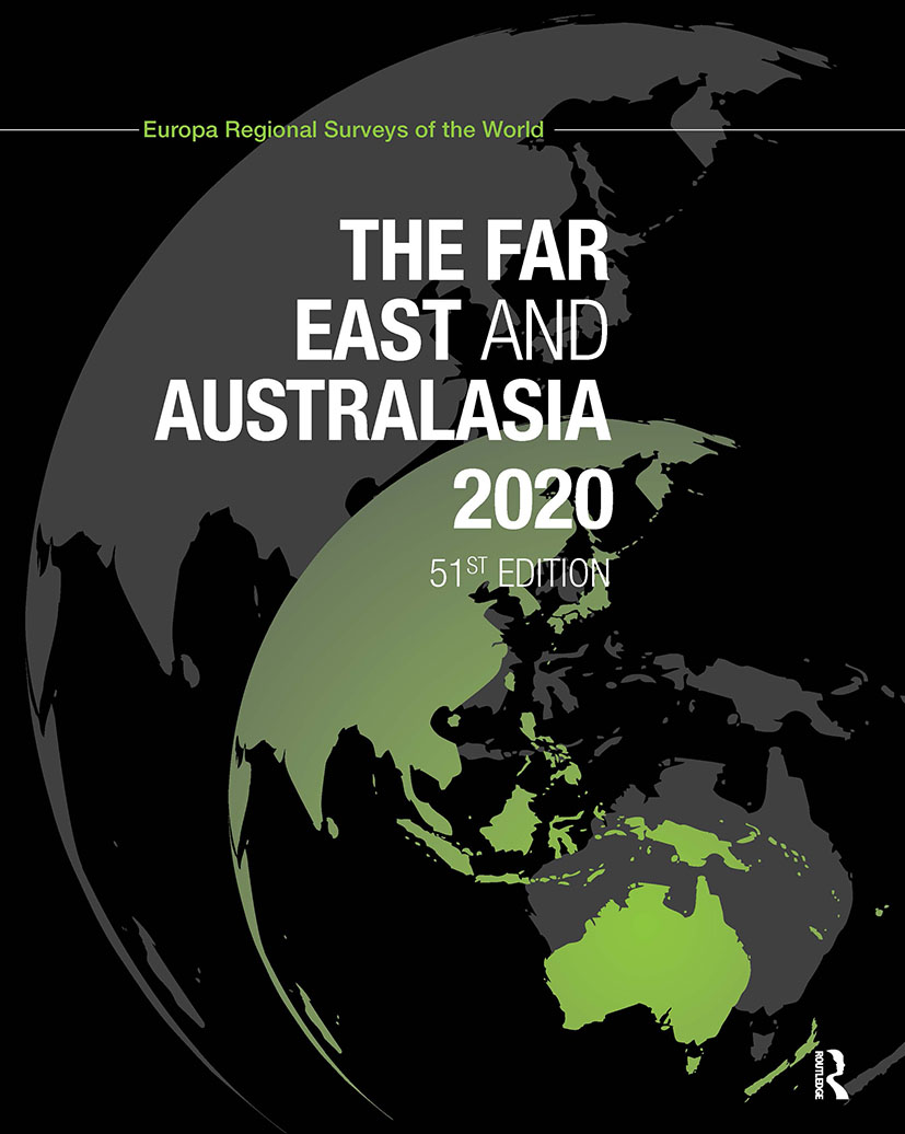 The Far East and Australasia 2020: 51st Edition (Hardback) book cover