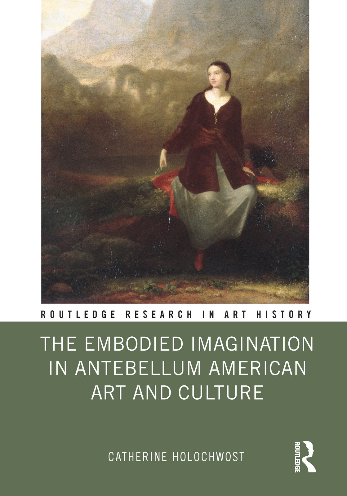 The Embodied Imagination in Antebellum American Art and Culture book cover