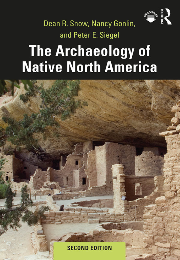 The Archaeology of Native North America: 2nd Edition (Paperback) book cover