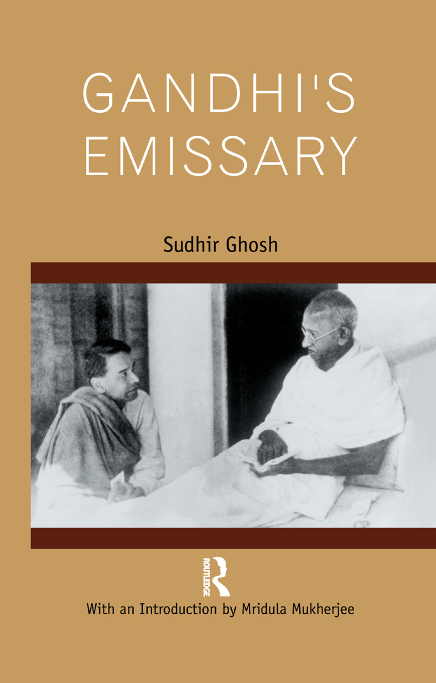 Gandhi's Emissary: 1st Edition (Paperback) book cover