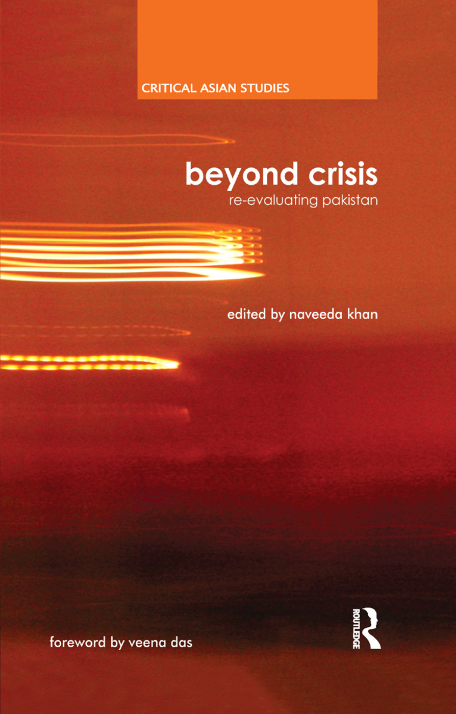Beyond Crisis: Re-evaluating Pakistan, 1st Edition (Paperback) book cover