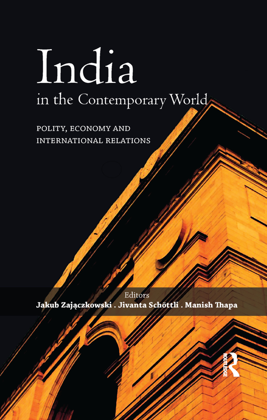 India in the Contemporary World: Polity, Economy and International Relations, 1st Edition (Paperback) book cover
