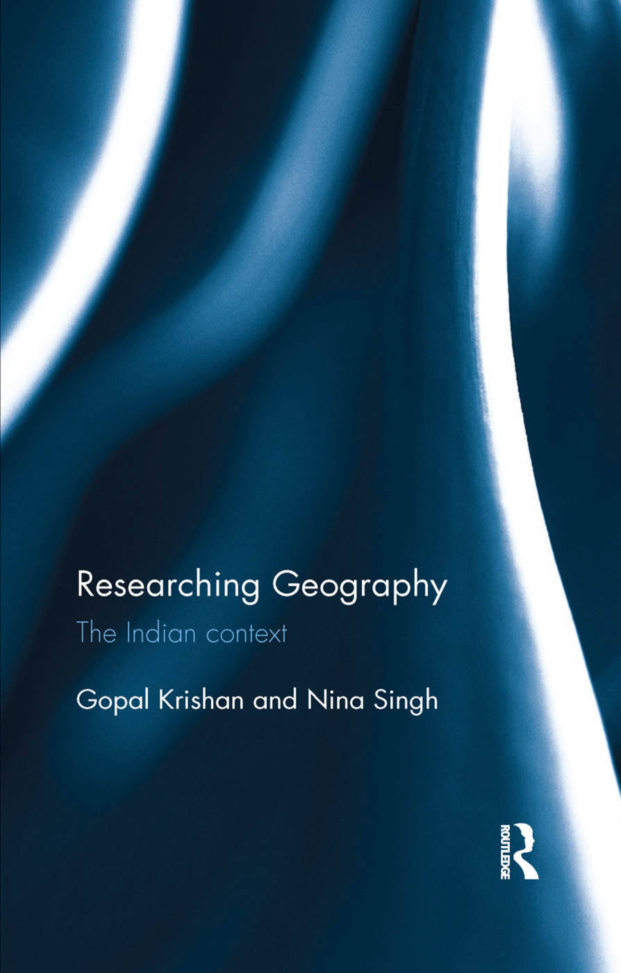Researching Geography: The Indian context, 1st Edition (Paperback) book cover