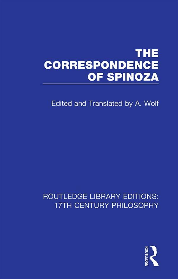 The Correspondence of Spinoza