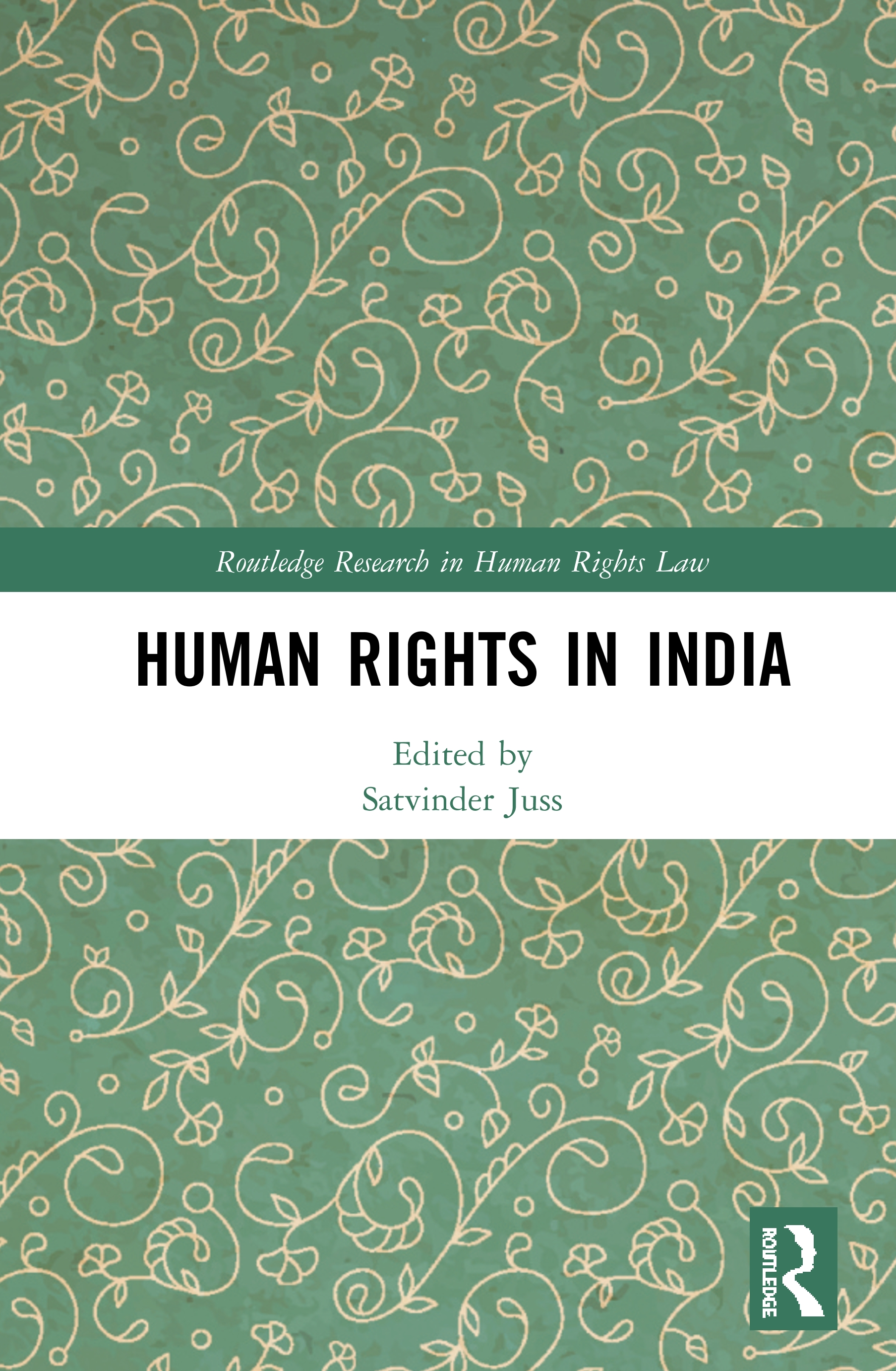 Human Rights in India book cover
