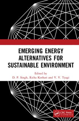 Emerging Energy Alternatives for Sustainable Environment: 1st Edition (Hardback) book cover