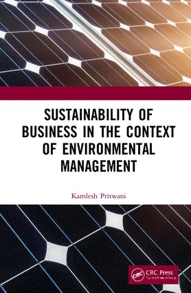 Sustainability of Business in the Context of Environmental Management book cover