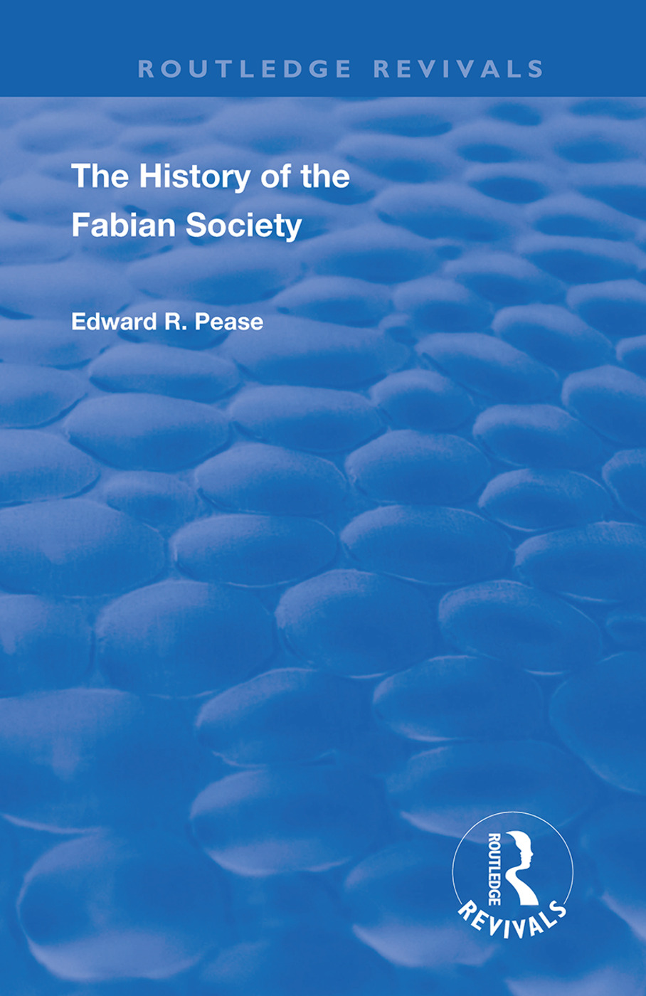 The History of the Fabian Society: 1st Edition (Hardback) book cover