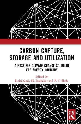 Carbon Capture, Storage and Utilization: A Possible Climate Change Solution for Energy Industry, 1st Edition (Hardback) book cover