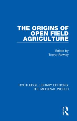 The Origins of Open Field Agriculture book cover
