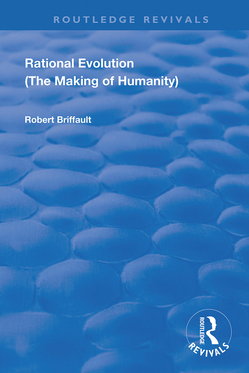 Rational Evolution: The Making of Humanity book cover