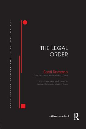 The Legal Order book cover