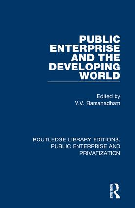 Public Enterprise and the Developing World book cover