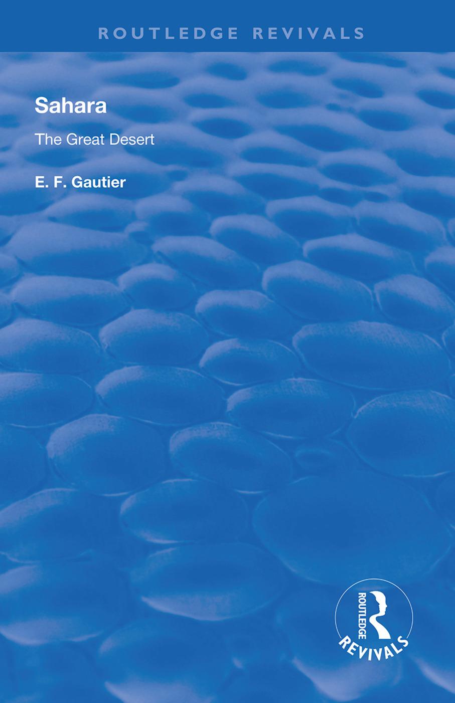 Sahara: The Great Desert, 1st Edition (Hardback) book cover
