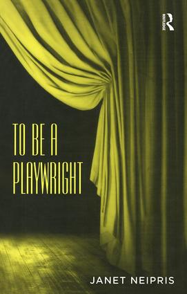 To Be A Playwright book cover