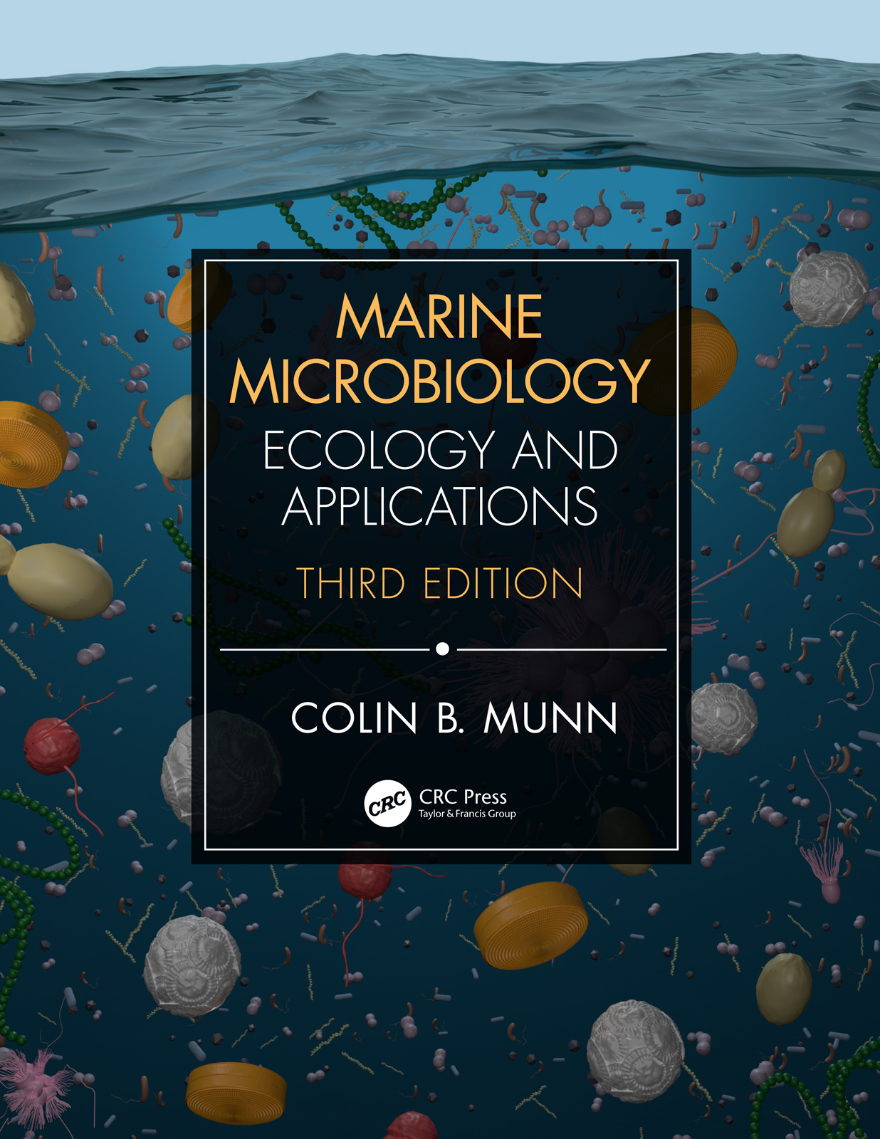 Marine Microbiology: Ecology & Applications book cover