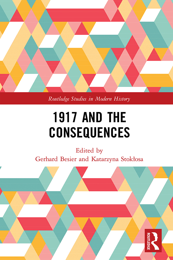 1917 and the Consequences book cover