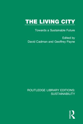 The Living City: Towards a Sustainable Future, 1st Edition (Hardback) book cover