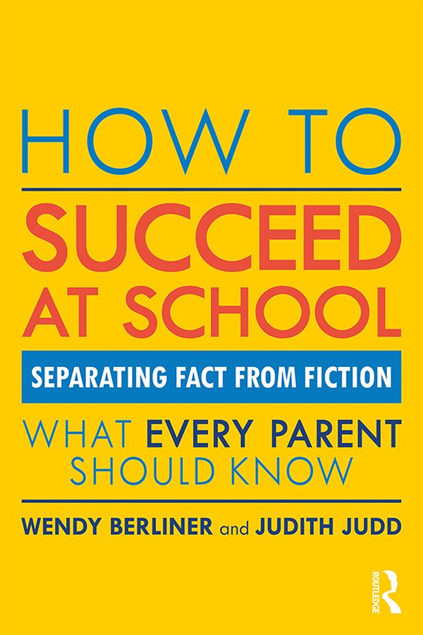 How to Succeed at School: Separating Fact from Fiction, 1st Edition (Paperback) book cover