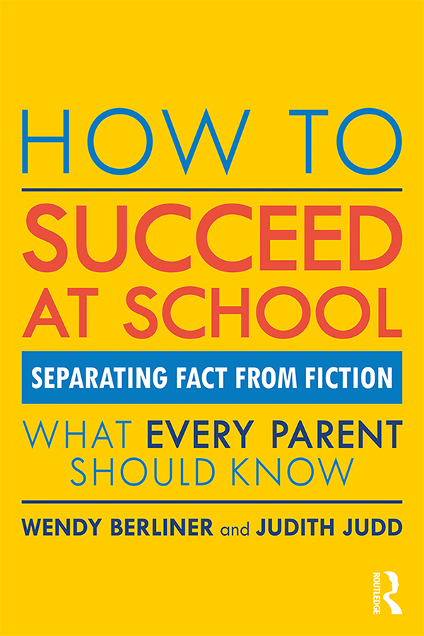 How to Succeed at School: Separating Fact from Fiction book cover