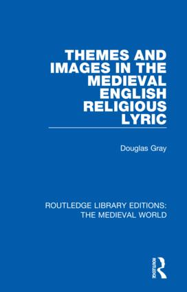 Themes and Images in the Medieval English Religious Lyric book cover