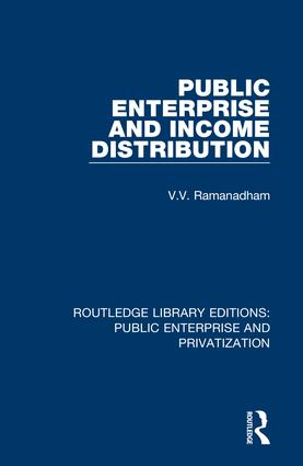 Public Enterprise and Income Distribution: 1st Edition (Hardback) book cover