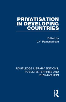 Privatisation in Developing Countries book cover