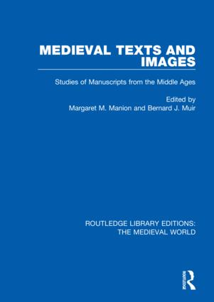 Medieval Texts and Images: Studies of Manuscripts from the Middle Ages book cover