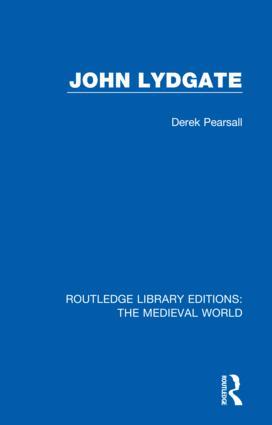 John Lydgate book cover