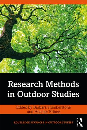 Research Methods in Outdoor Studies book cover