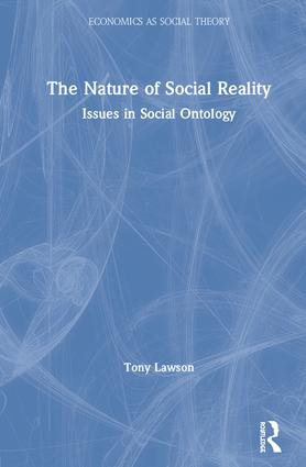 The Nature of Social Reality: Issues in Social Ontology book cover