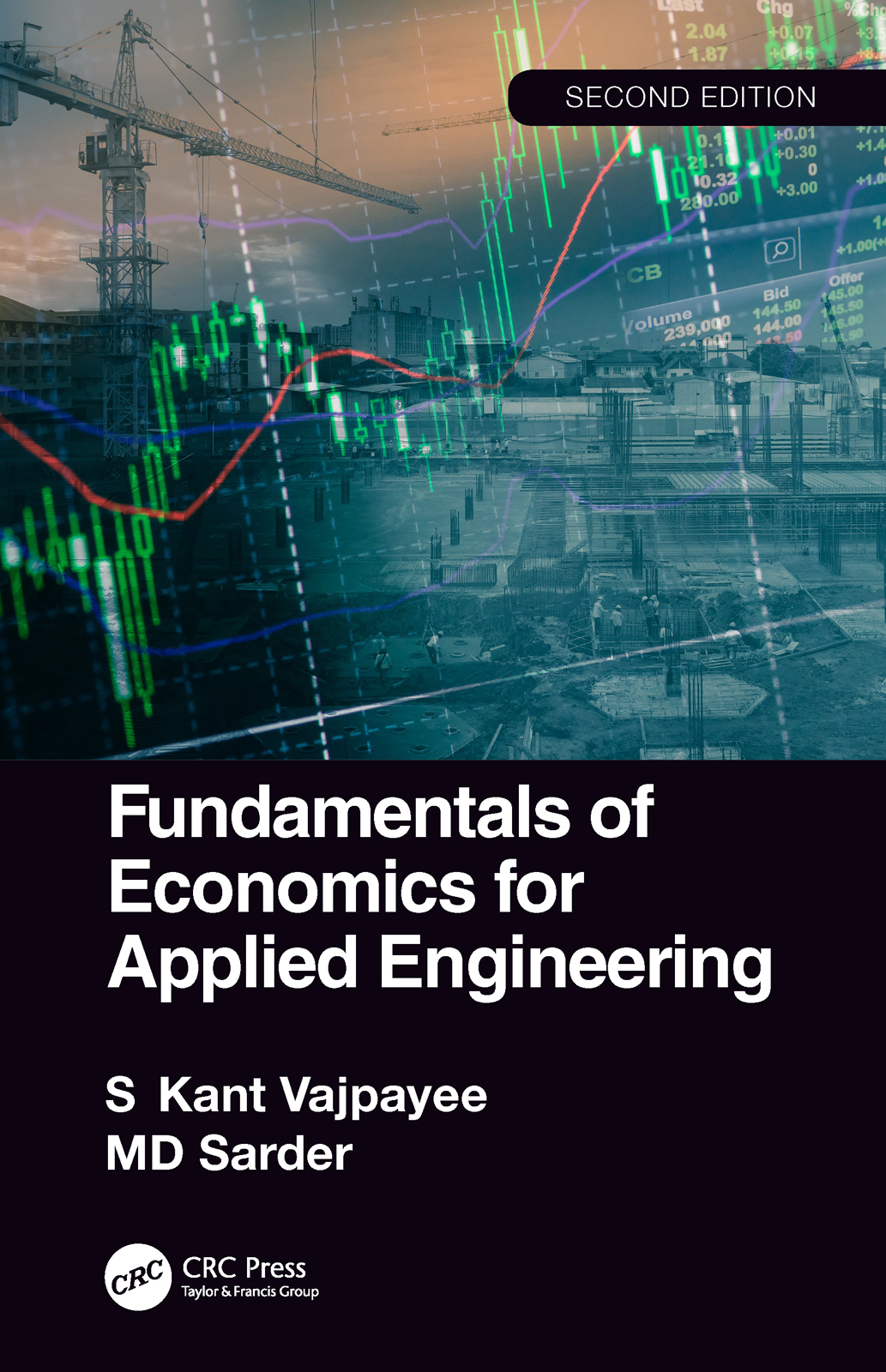 Fundamentals of Economics for Applied Engineering: 2nd Edition (Paperback) book cover