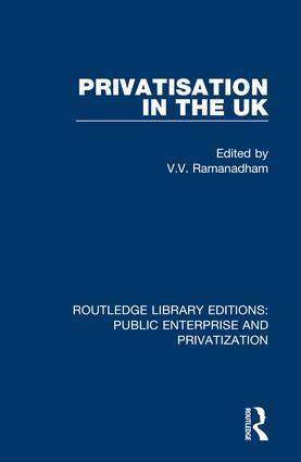 Privatisation in the UK: 1st Edition (Hardback) book cover