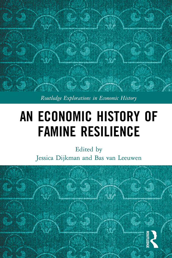An Economic History of Famine Resilience book cover