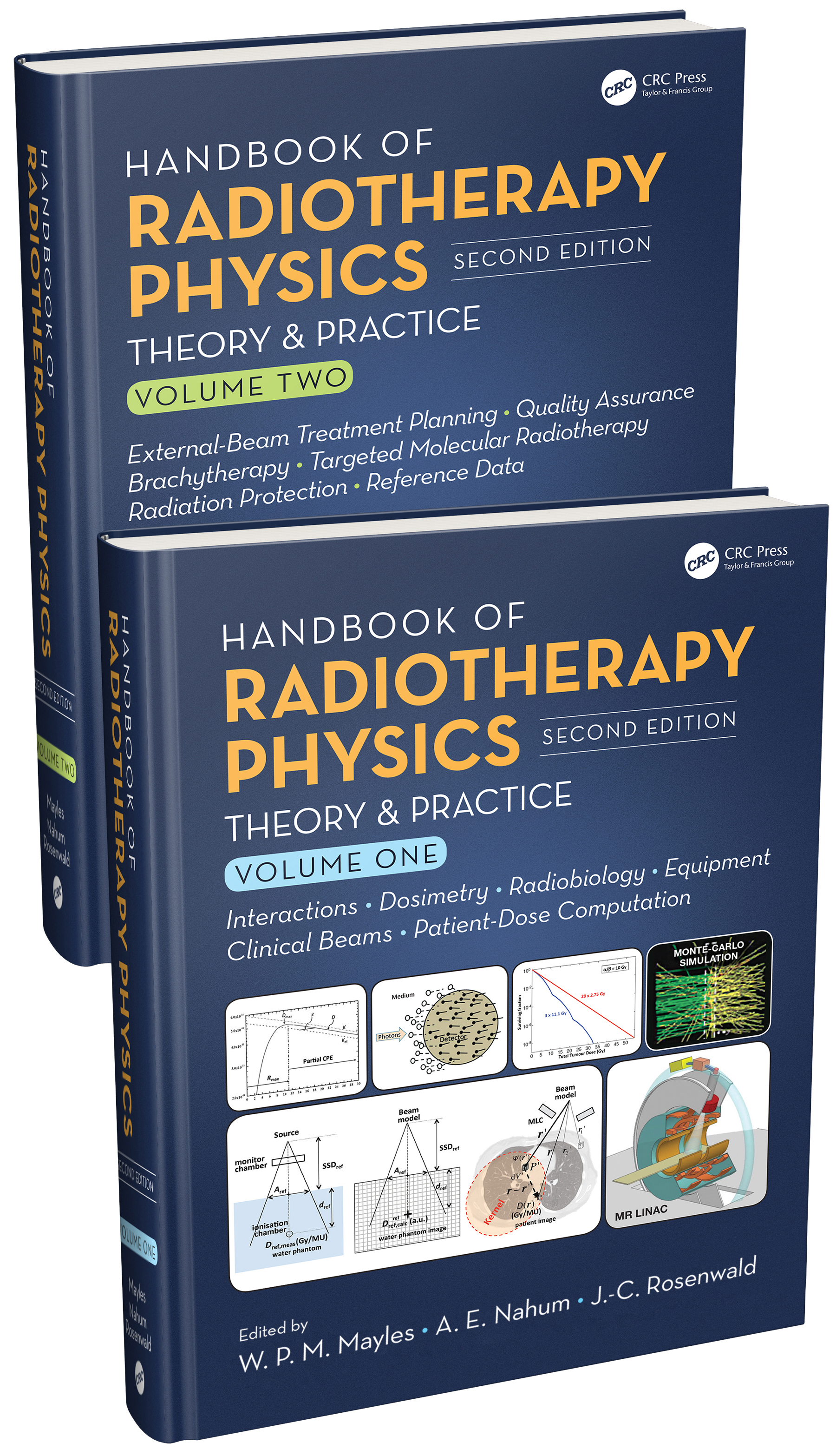 Handbook of Radiotherapy Physics: Theory and Practice, Second Edition, Two Volume Set book cover