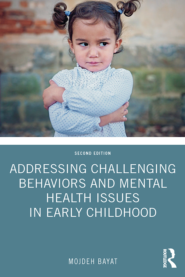Addressing Challenging Behaviors and Mental Health Issues in Early Childhood book cover