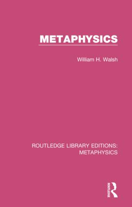 Metaphysics: 1st Edition (Hardback) book cover