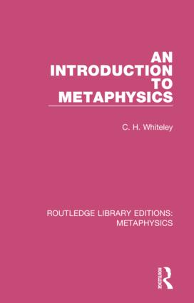 An Introduction to Metaphysics: 1st Edition (Hardback) book cover