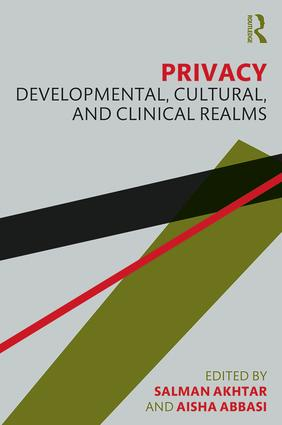 Privacy: Developmental, Cultural, and Clinical Realms, 1st Edition (Paperback) book cover