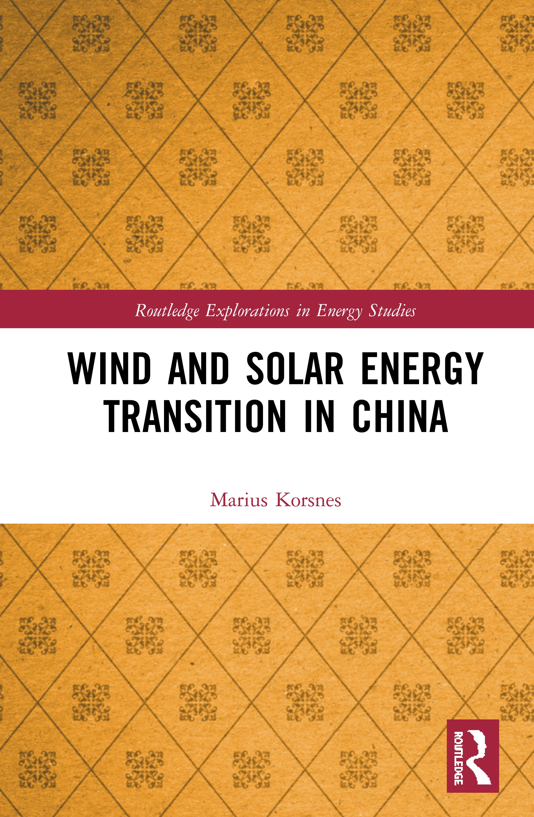 Wind and Solar Energy Transition in China book cover