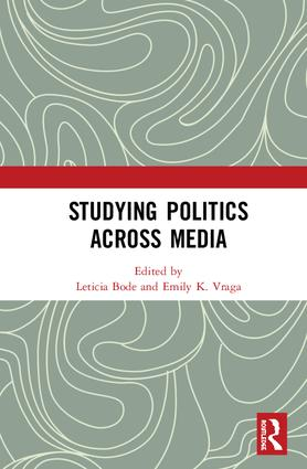 Studying Politics Across Media: 1st Edition (Hardback) book cover