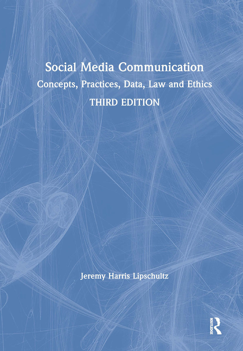 Social Media Communication: Concepts, Practices, Data, Law and Ethics book cover