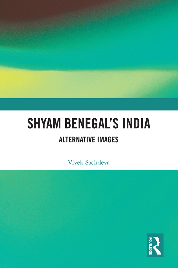 Shyam Benegal's India: Alternative Images book cover